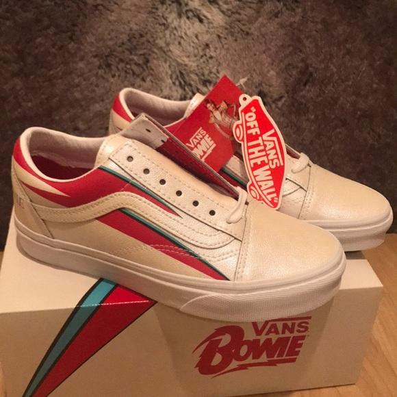 ⚡️David Bowie Aladdin Sane Vans Limited Edition⚡️ NWT